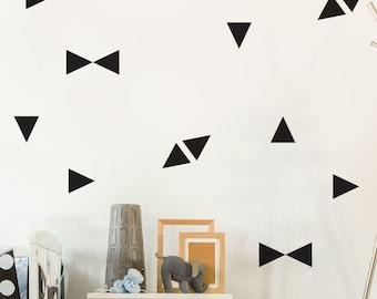 Wall Decals - Triangles - Decals - Wall Tattoo - Wall Art - Home Decor - Wall Decor - Wall Decals - Shapes - Stickers - Decor