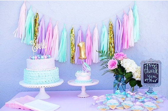 Cake Decoration Accessories Pink And Lilac