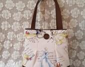 SALE! Classic Princess Tote Bag / Cinderella / Snow White / Belle