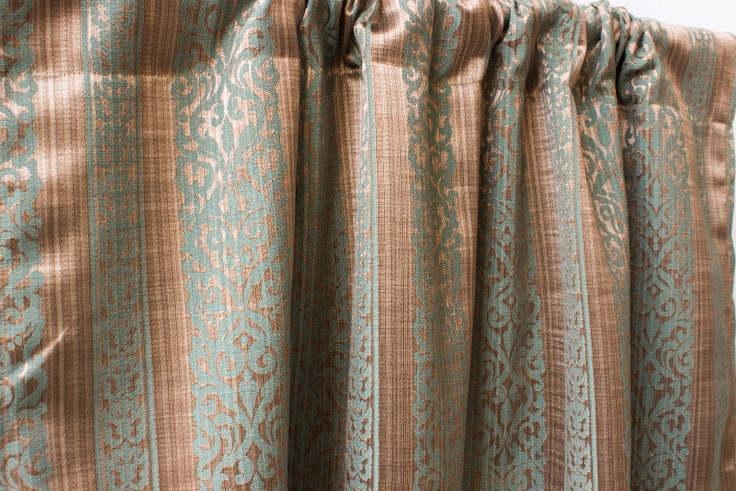 moroccan curtains brown green custom curtain panels by fabricasia