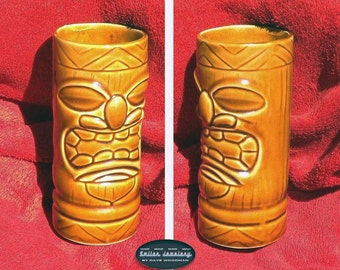 "Tiki glass includes ""It's a Mad, Mad, Mad, Mad World"" car glass."
