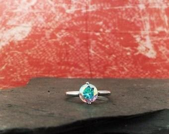 Sunfire Jewelry - Silver Ring - Opalescent Topaz