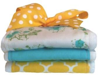 Sweet Birdie Baby Burp Cloths - Baby Shower Gift