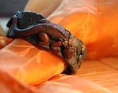 Brown Lizard, Dragon, Bracelet, Fantasy, Collector