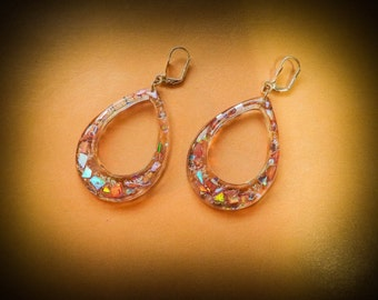 "Party earrings ""Rainbows"""