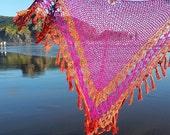 Crochet Shawl Pattern ~ Instant Download