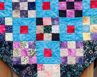 How is quilt fabric made in america?