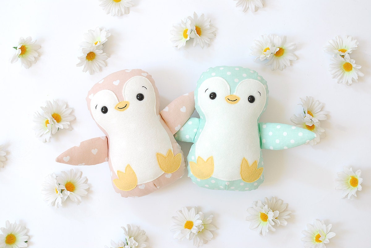 Pinguin plüsch spielzeug weichen