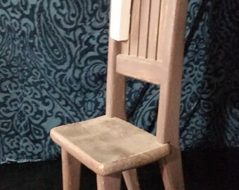 Wooden Doll Chair