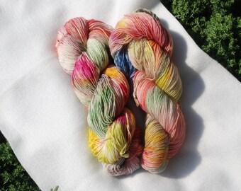 Sock Yarn 75/25 BFL/Nylon - Bohemian Rainbow