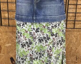 Women's custom made skirt, size 10