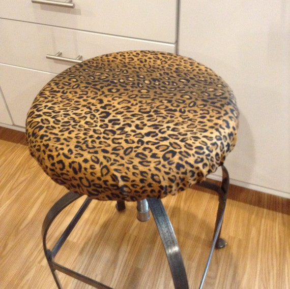 Elasticized Round Barstool Cover Counter By Brittaleighdesigns