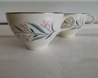 Regal by Alliance teacups / set of 2 mid century coffee cups