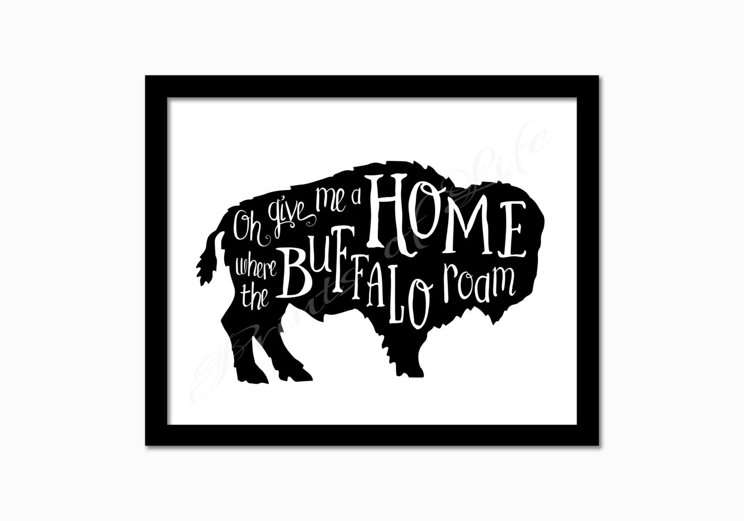 Oh give me a home where the buffalo roam instant download for Home by me download