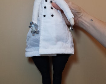 Chef Doll, Baker Doll, Cook Doll with Chef Jacket and Chef Hat