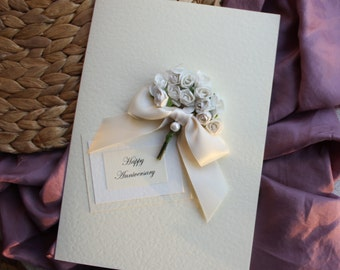 1st anniversary card wedding anniversary gift for him gift for her ...