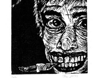 Creep with cigarette