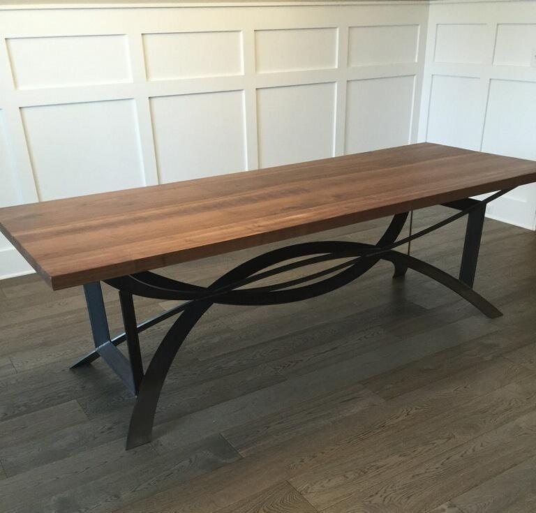 DINING TABLE Sale Modern Rustic Table with by