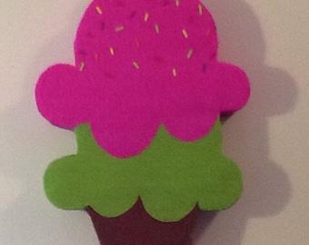 Ice cream  Pinata. Ice cream birthday Party.