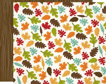 SALE! I Heart Fall Paper Pack from Echo Park - 3 Sheets