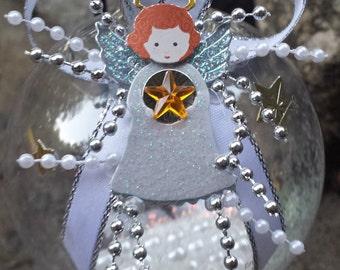 Angel Christmas Ornament - Angel in White