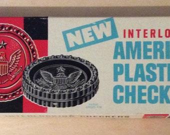 Vintage Halsam American Checkers Eagle