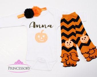 Baby girl halloween costume, baby girl halloween clothes, Baby Halloween Outfit, Baby Girl Halloween Outfit, baby girl halloween leggings
