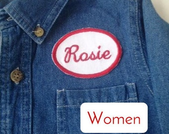 Women/Adult - Rosie the Riveter Costume (Shirt & Headband)