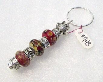 948 - Beaded Key Ring