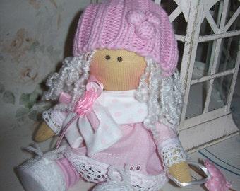 Mimi textile doll