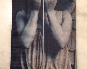 Weeping Angel Sock