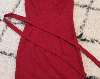 Vintage 1960's Sleeveless Mod Dress