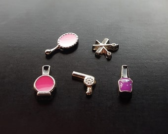 Makeup Floating Charm for Floating Lockets-Gift Idea