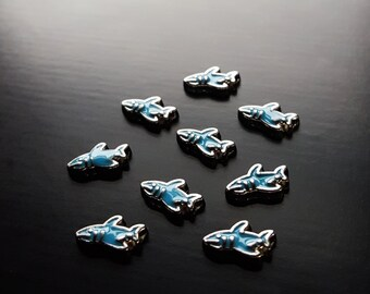 Shark Floating Charm for Floating Lockets-Gift Idea