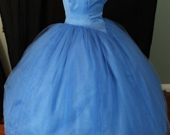 Disney-Inspired Live Action Cinderella Gown - LAST ONE