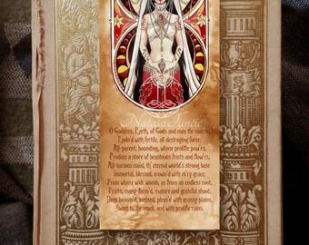 Goddess bookmark - Earth