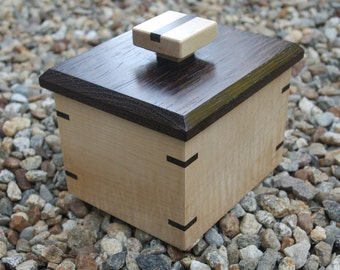 Figured Maple and Wenge Box