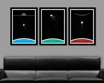 Future Scifi Greats Minimalist Version 1 Posters 265 Home Decor