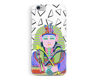EGYPTIAN iphone 6 case, iphone 6 case, Plastic phone case, Tutankhamun jewellery, Egypt iphone 6 case, tribal iphone 6 case, gift ideas