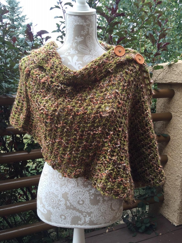 Mobius Wrap Knitting Pattern : Mobius Wrap a loom knit pattern