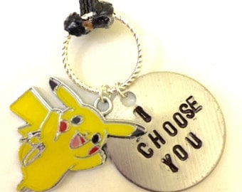 "Hand Stamped ""I Choose You"" Necklace"