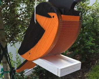 Amish Handcrafted Oriole Bird Feeder
