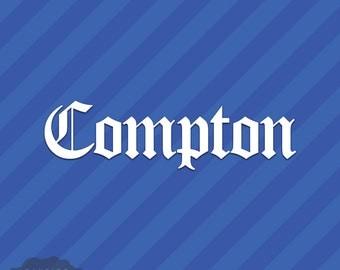Compton Sticker Etsy