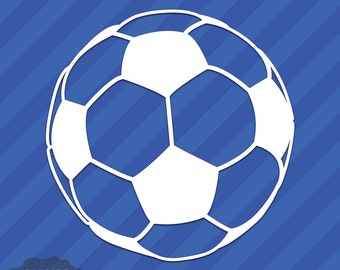 Soccer Ball Vinyl Etsy