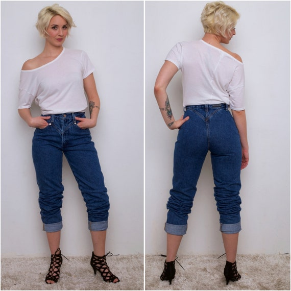 High waisted sexy mom jeans size 5 Long/Tall Inseam