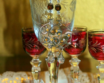 "Handmade earrings ""Cardea"" made in Italy"