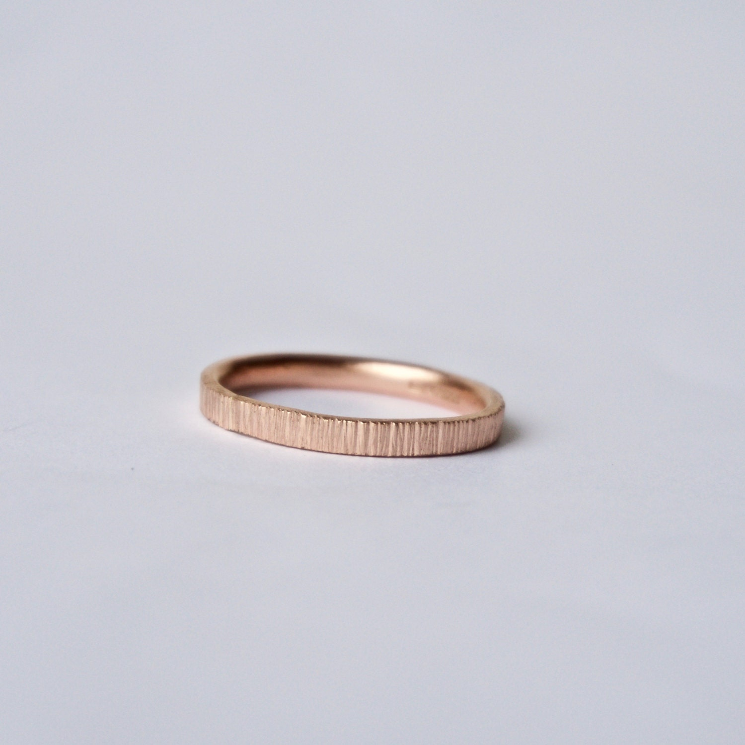 rose gold tree bark ring unique wedding unique womens wedding rings Rose Gold Tree Bark Ring Unique Wedding Band Women s Wedding Ring Men s Wedding Band Rose Pink Red Gold Thin Ring