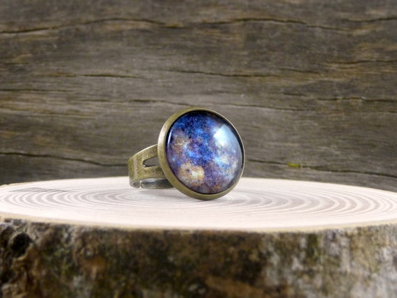 planet ring mercury ring space ring space jewelry by