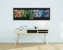 Huge League Of Legends Panoramic Poster - LOL #2