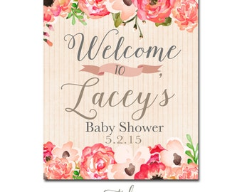 shower sign baby shower sign welcome sign bridal shower welcome sign